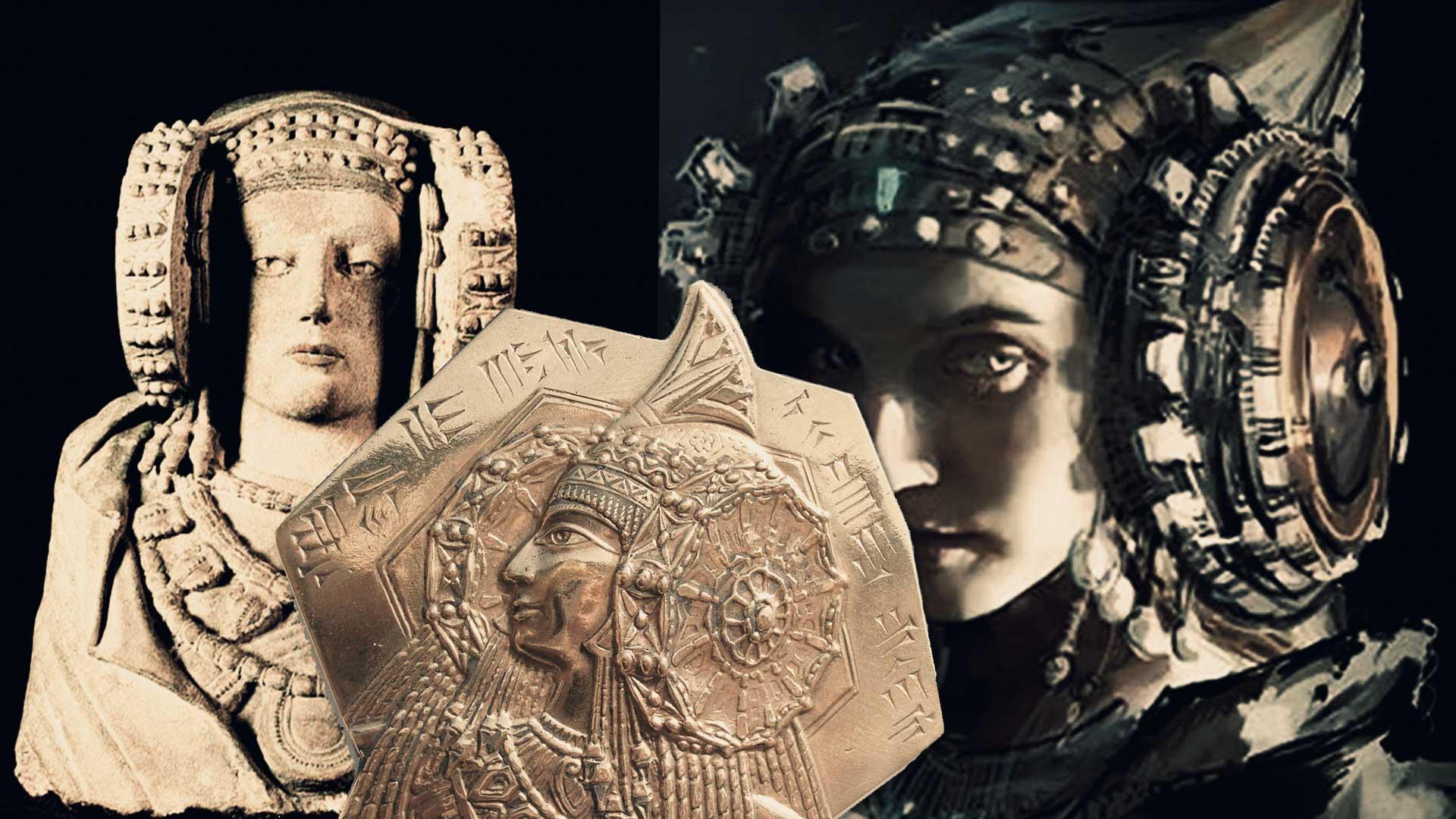 La medalla de la Dama de Elche de Utah prueba que esta es una diosa Sumeria