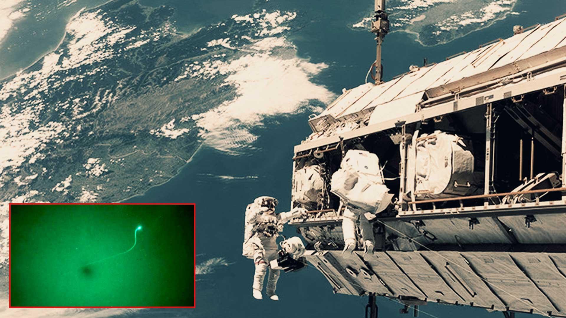 Extraño objeto es captado siguiendo a Estación Espacial