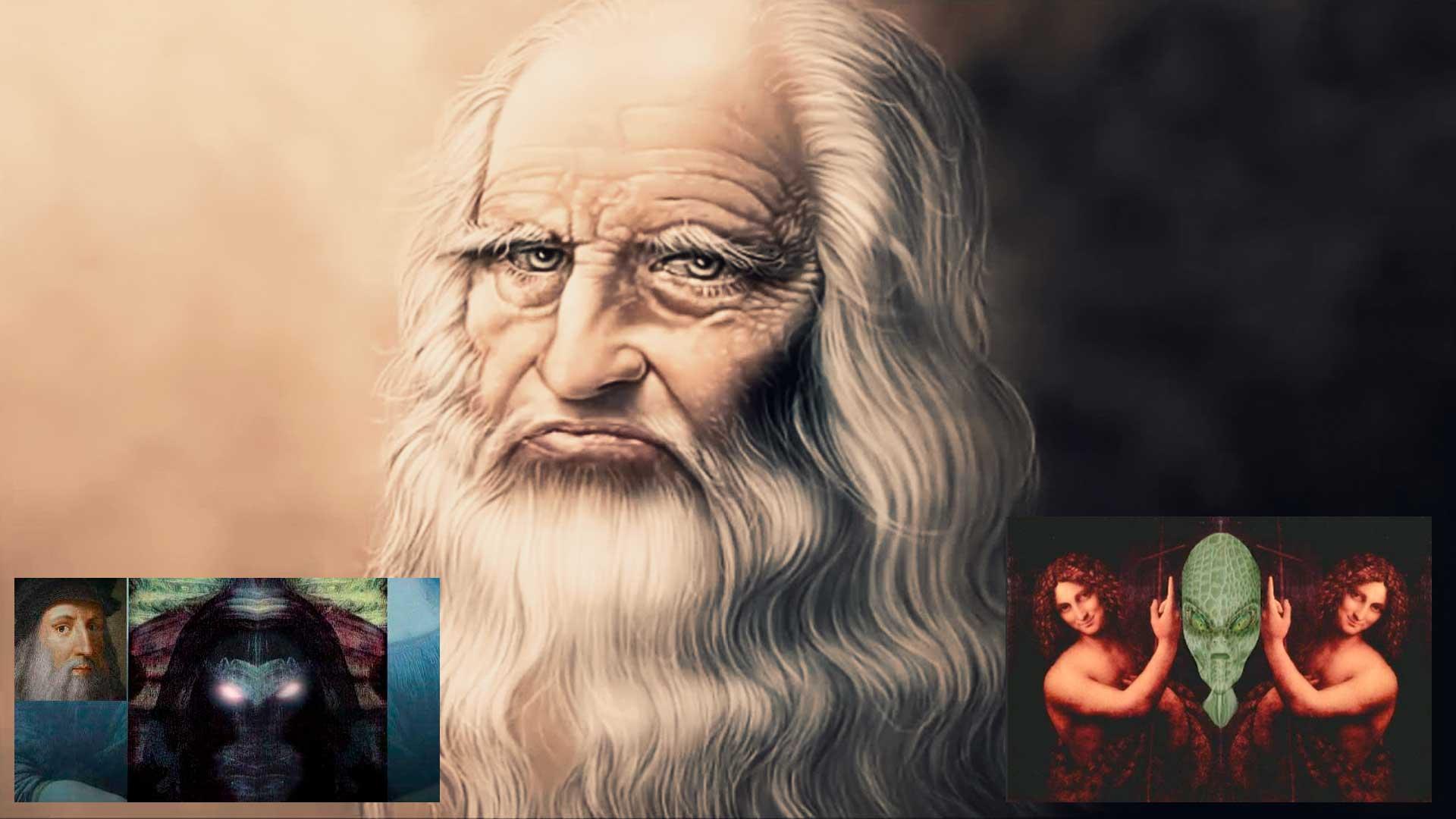 Extraterrestres ocultos en las obras de Leonardo Da Vinci, estos son sus misteriosos mensajes