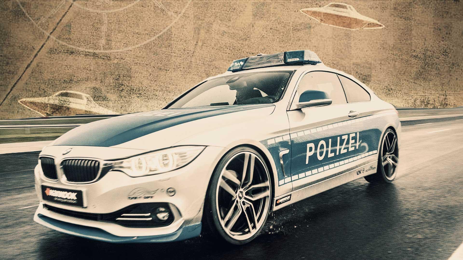 Vídeo grabado por la policía alemana muestra avistamiento OVNI