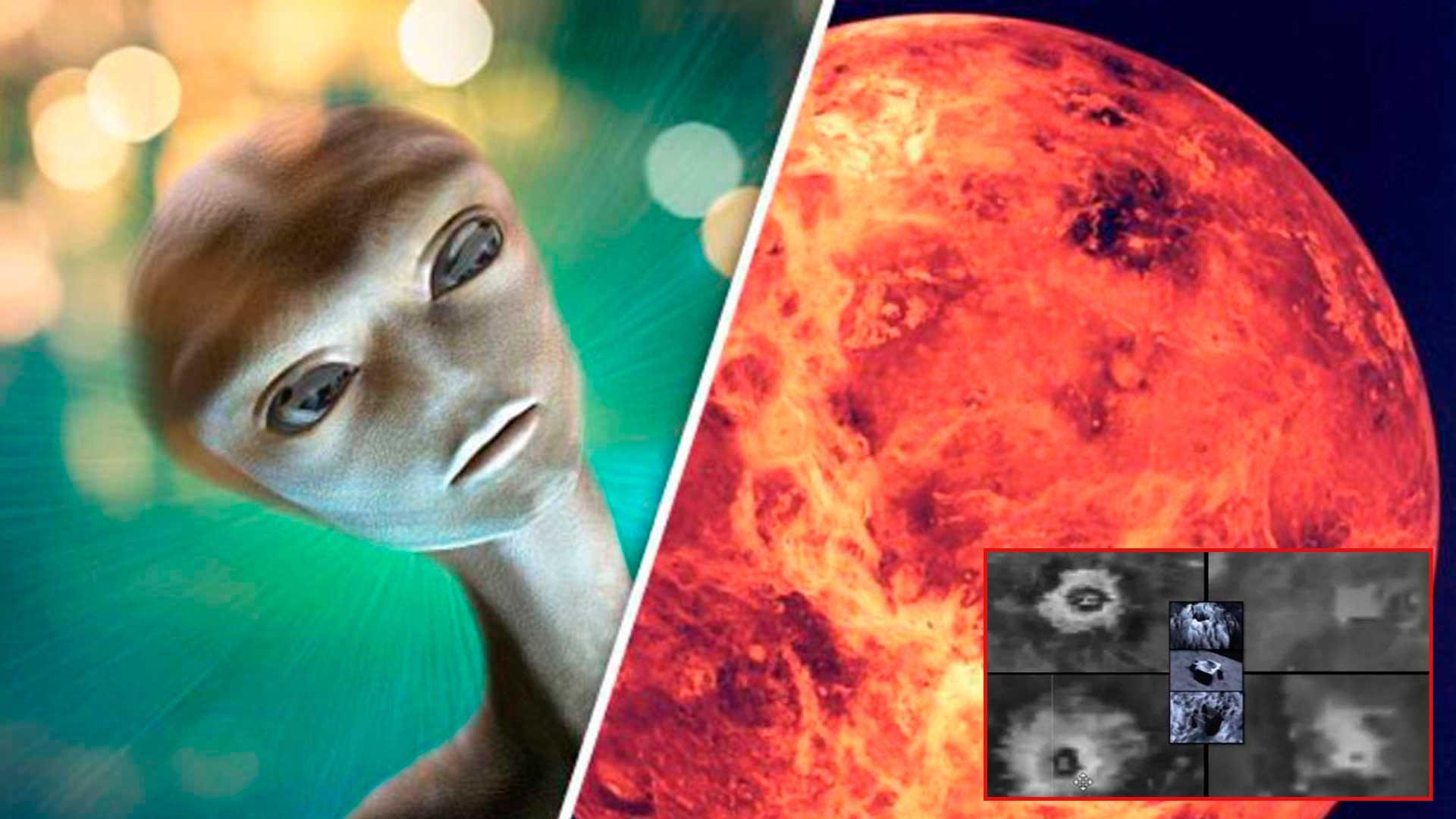 Según RT planeta Venus está lleno de Ciudades y seres vivos y la NASA lo ha ocultado