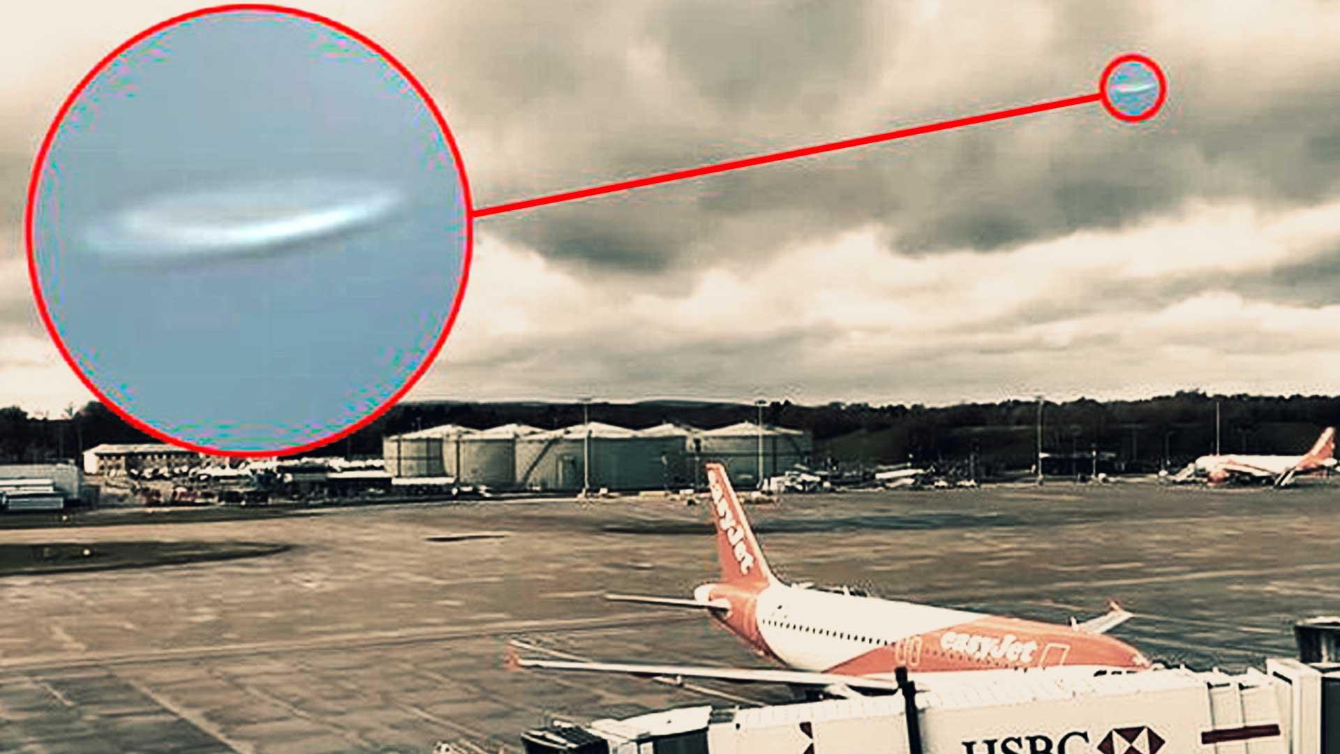 Aeropuerto del Reino Unido obligado a cancelar todos sus vuelos por culpa de OVNI