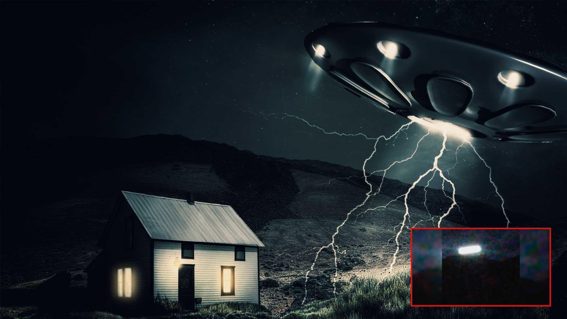 Un OVNI vuela sobre una casa de Trinidad, EEUU ante la mirada incrédula de los vecinos