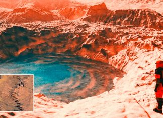 Marte, descubren cráteres que expulsan agua del subterráneo