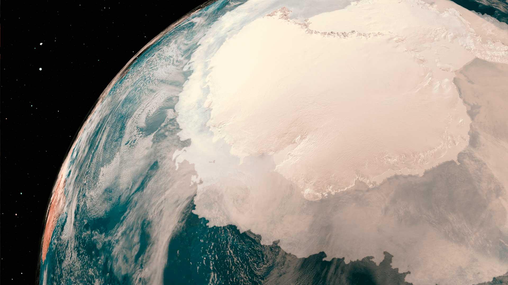 Científicos hallan una enorme cavidad en la Antártida