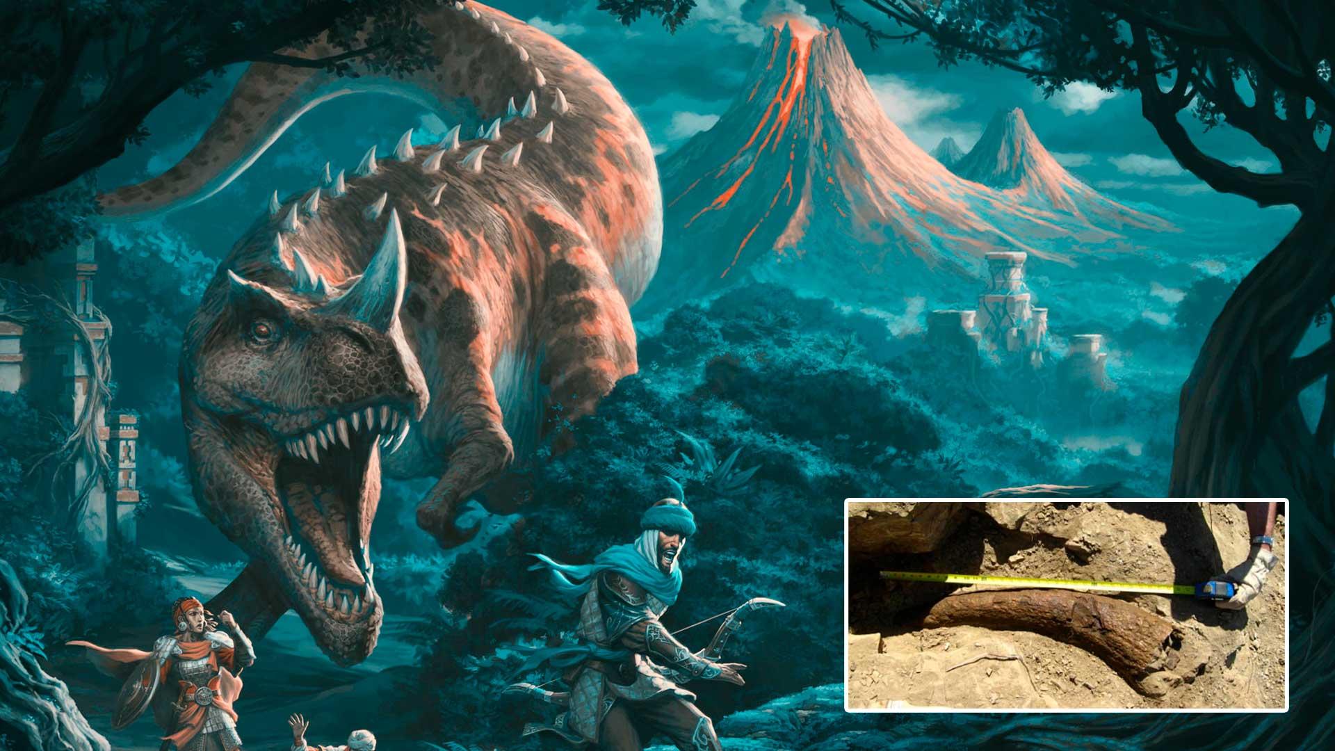 Datación por carbono prueba que este dinosaurio convivió con humanos hace 33 mil años