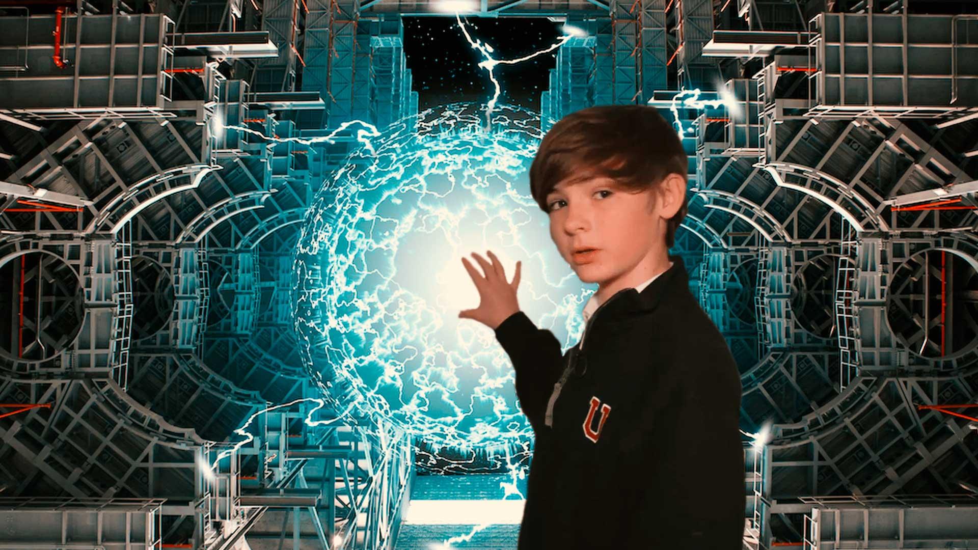 Un niño de 14 años construye un reactor de fusión nuclear con piezas compradas en Internet
