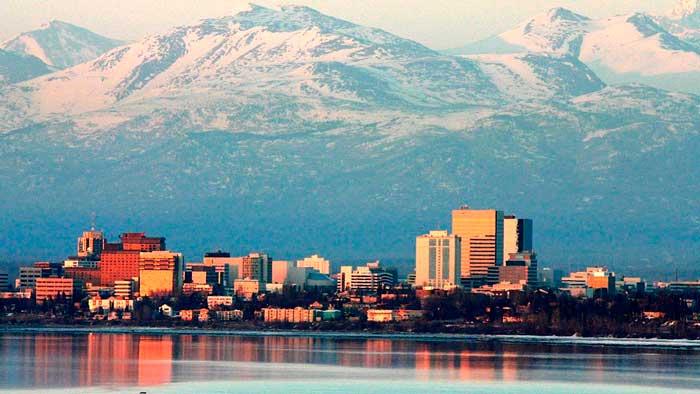 Pilotos de la Fuerza Aérea de EEUU graban este OVNI cayendo en Alaska