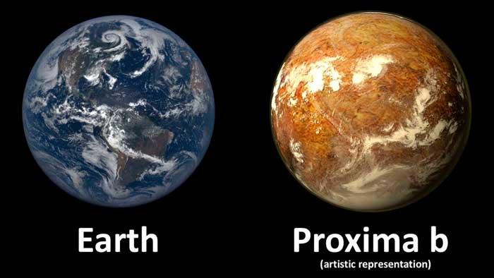 Confirmado: Proxima B, segunda Tierra tiene agua y, muy probablemente, vida