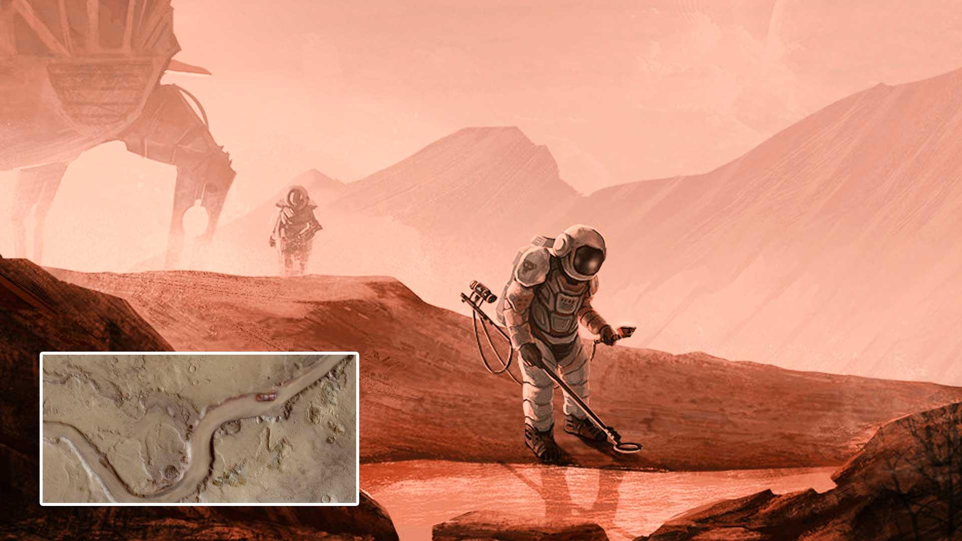 Científicos aseguran que Marte era un planeta lleno de ríos y lagos gigantes, ¿qué pasó?