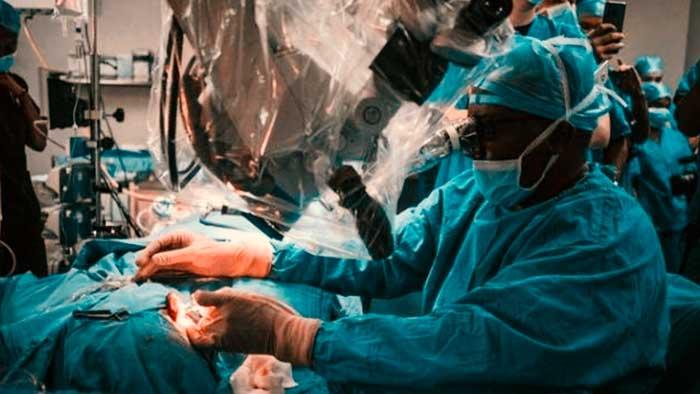 Médicos de Sudáfrica realizan con éxito el primer trasplante de oído