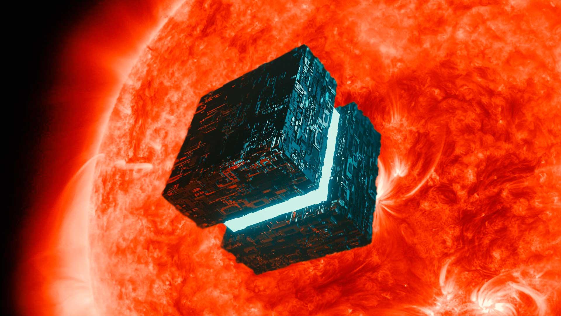 La NASA divisa una vez más un «cubo OVNI» cerca del Sol
