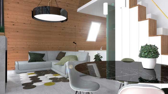 Sostenibilidad. Una acogedora casa por solo $ 33K y ¡puede construirse en 6 horas!