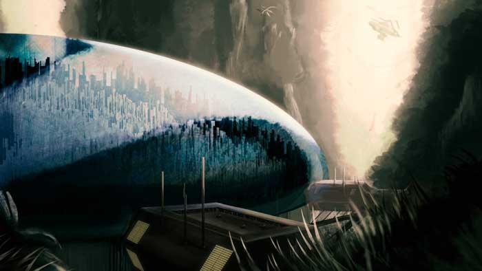 Hallan supuesta ciudad bajo una cúpula en Ganímedes