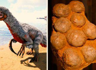 Hallan por primera vez huevos fosilizados del dinosaurio con las garras más largas de la historia