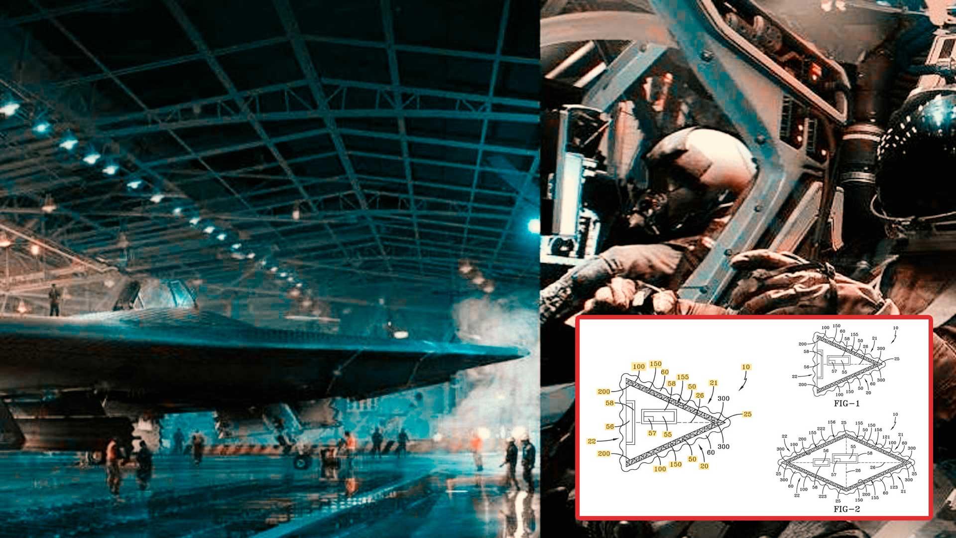 EEUU hace oficial patente de avión basado en tecnología OVNI
