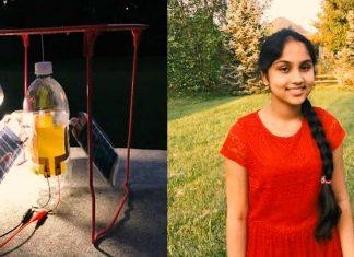 Joven científica genera energía limpia con sólo 5 dólares