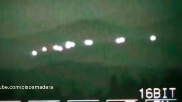 Huge UFO is photographed at Mount Shasta, California