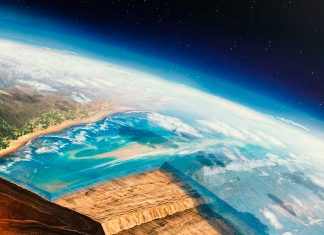 Una placa tectónica del Océano Atlántico se está separando en dos