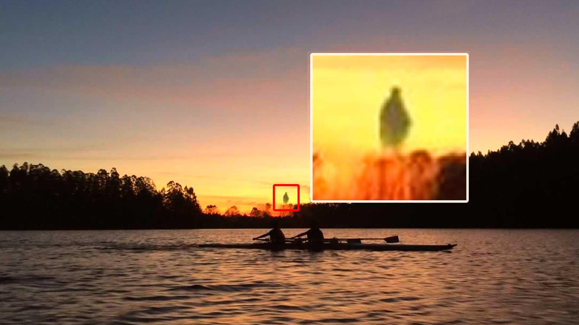 Publican fotografías con forma humanoide en Chile en el horizonte ¿de qué se trata?