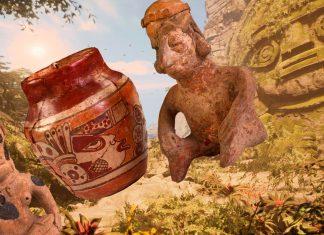 Hallan en Guatemala por accidente el taller de estatuillas mayas más grande del mundo