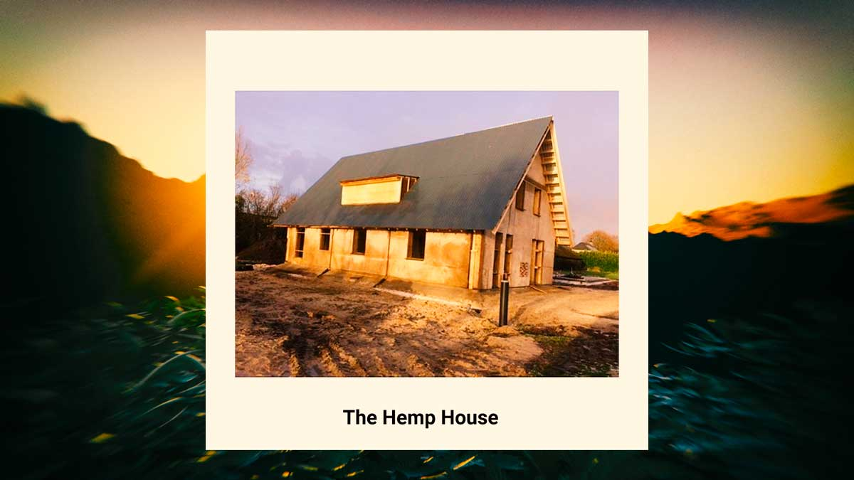 Primera casa prefabricada del mundo hecha completamente de hormigón de cáñamo