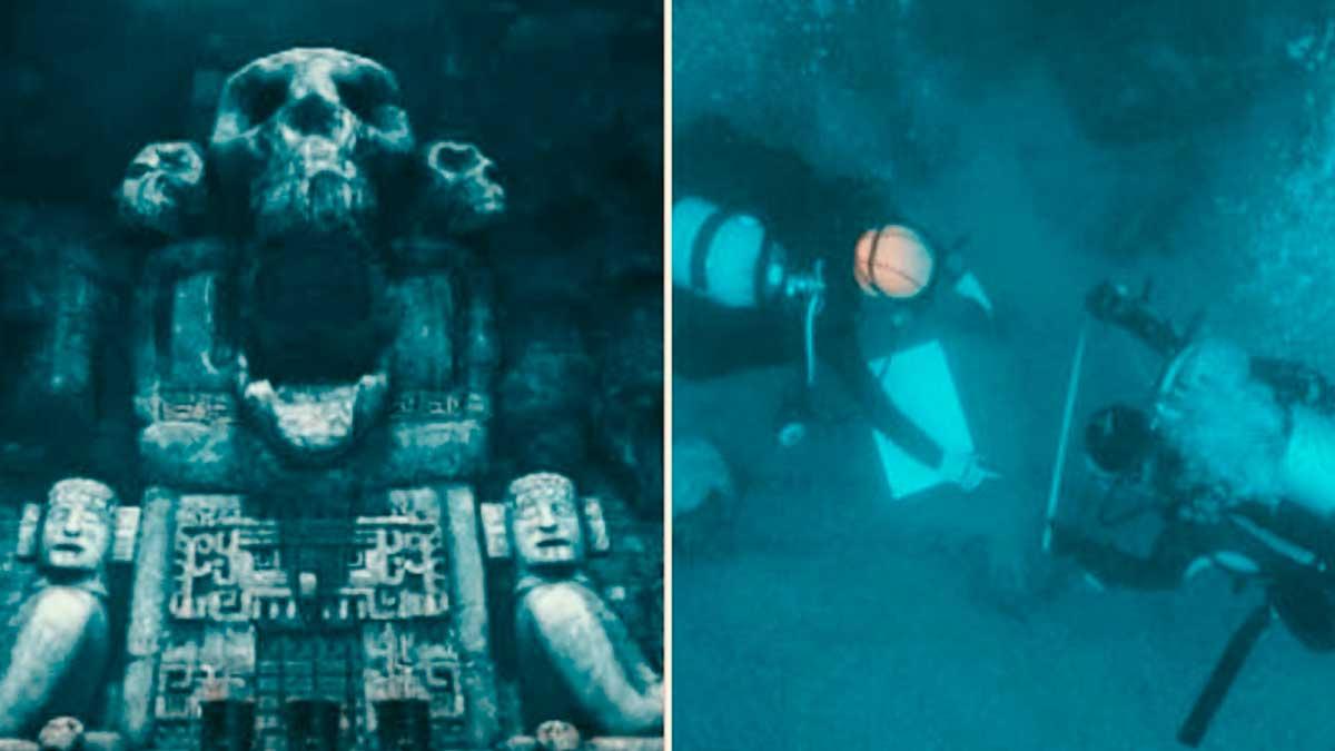 Descubierta la puerta al inframundo maya