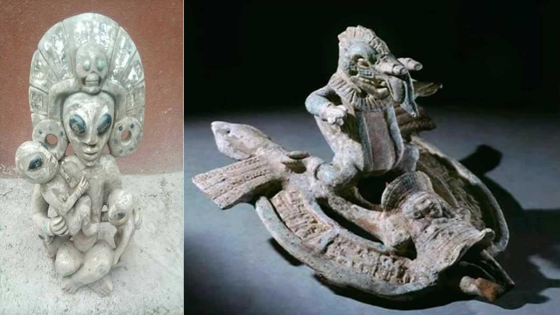 ¿Son estas reliquias mayas artefactos alienígenas?