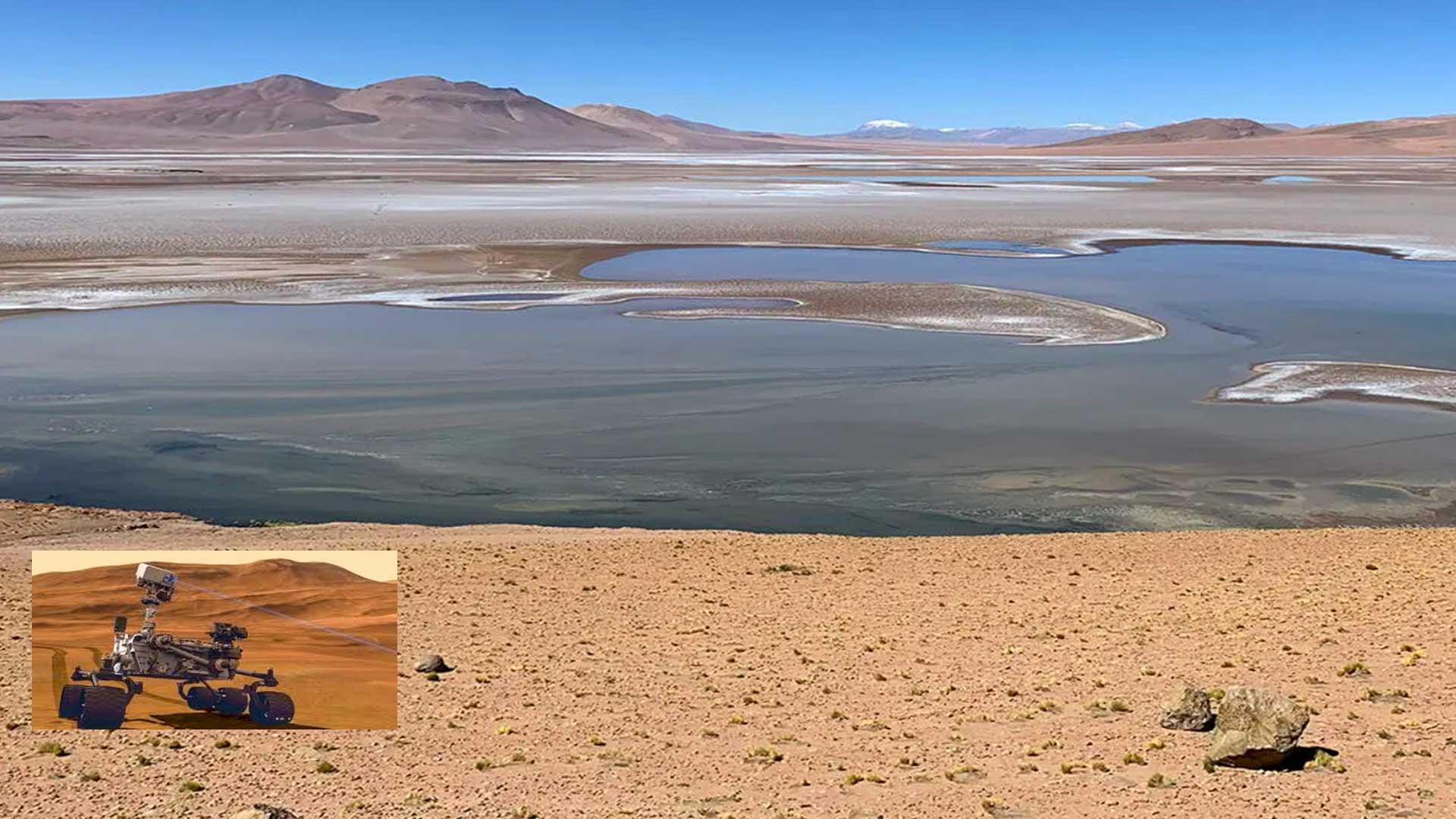 ¿Ha encontrado el rover Curiosity un oasis en Marte?