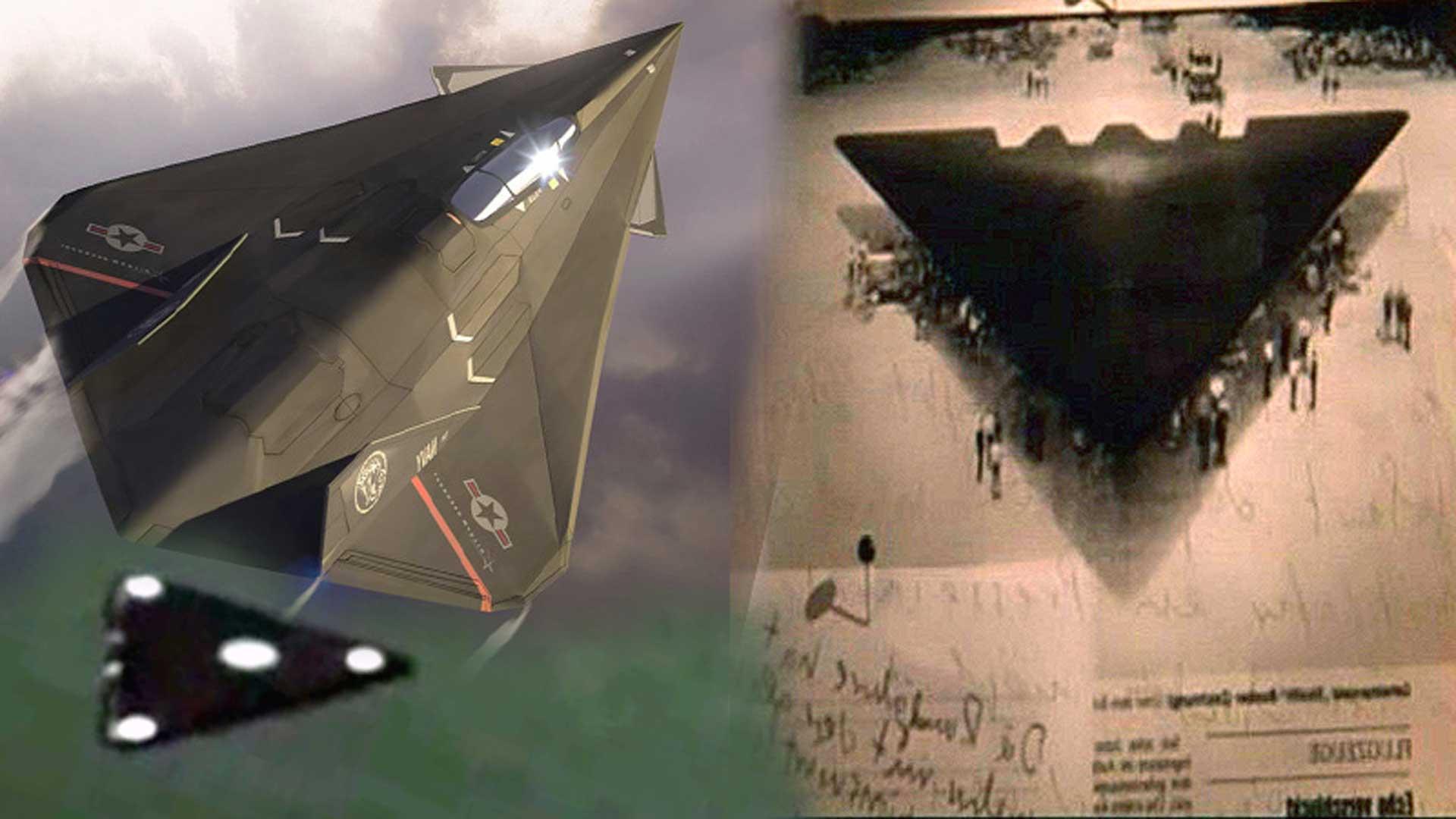 Aparatoso incidente con un TR-3B dentro del Área 51