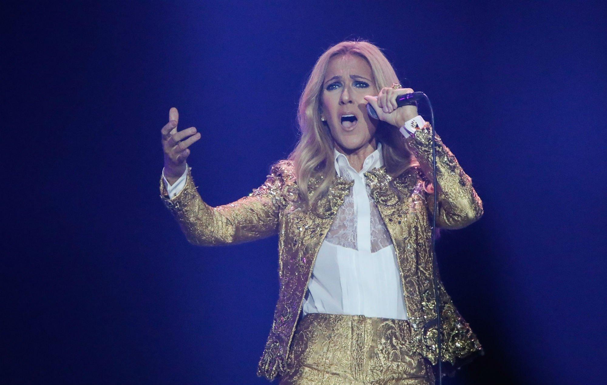 Celine Dion lanza una línea de ropa para niños de género neutro vinculado con los Illuminati