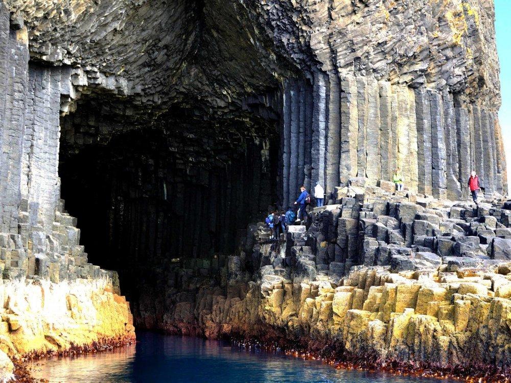 """Staffa -""""Isla de las columnas"""", que según las leyendas de los vikingos fue construida por los gigantes 3"""