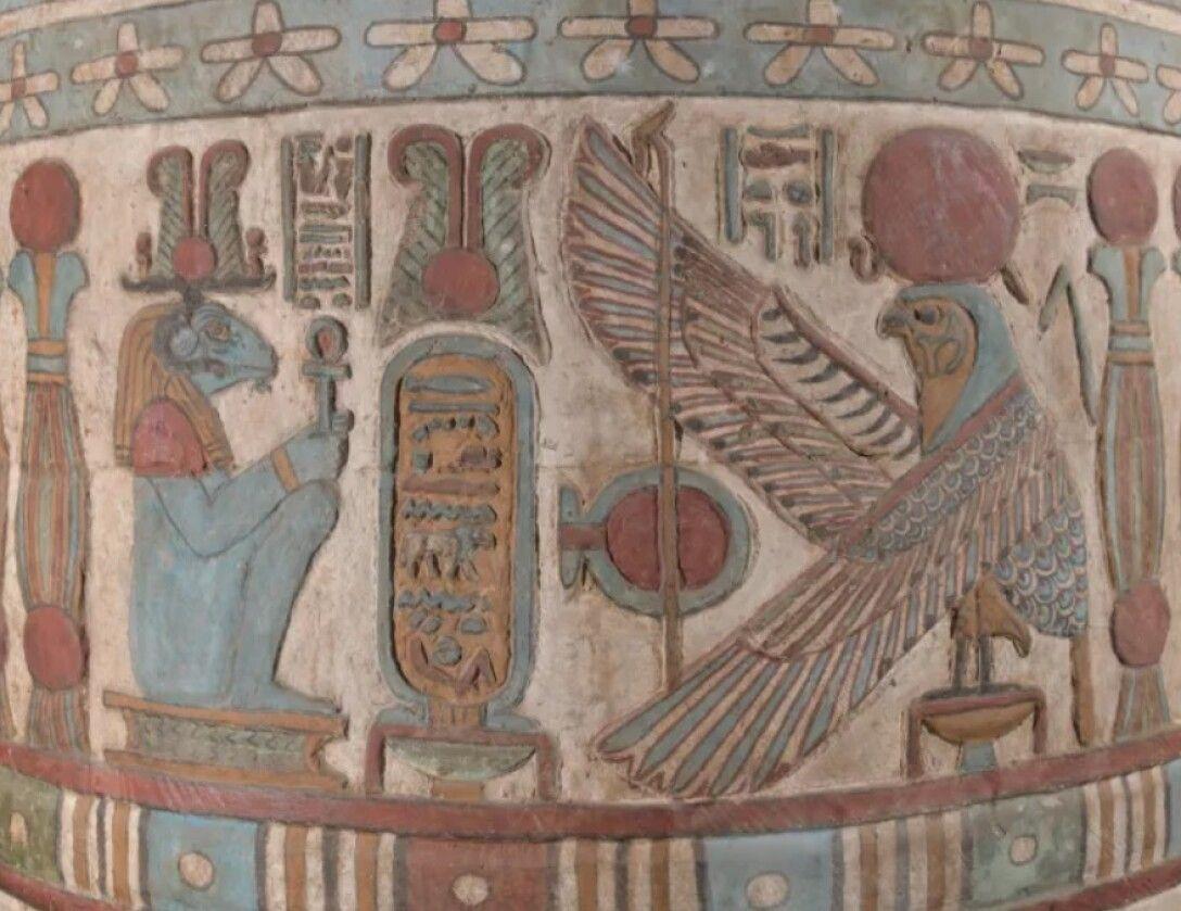 """Los arqueólogos han descubierto constelaciones""""desconocidas"""" en un templo egipcio 3"""