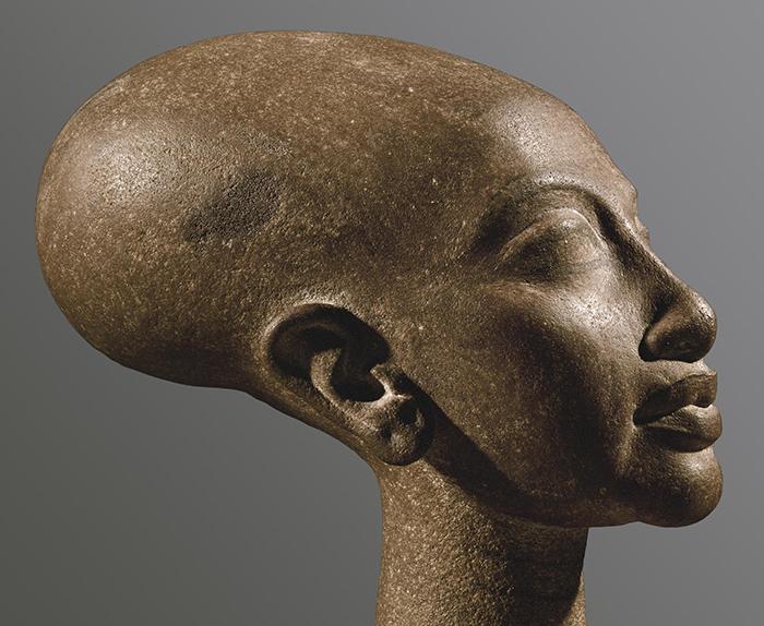 Retrato de la hija de Akhenaton y Nefertiti.