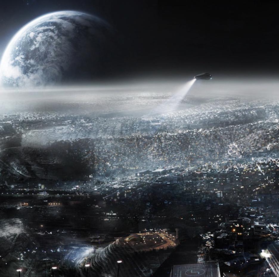 La Luna tiene más de 250 millones de habitantes humanos según informante de la CIA