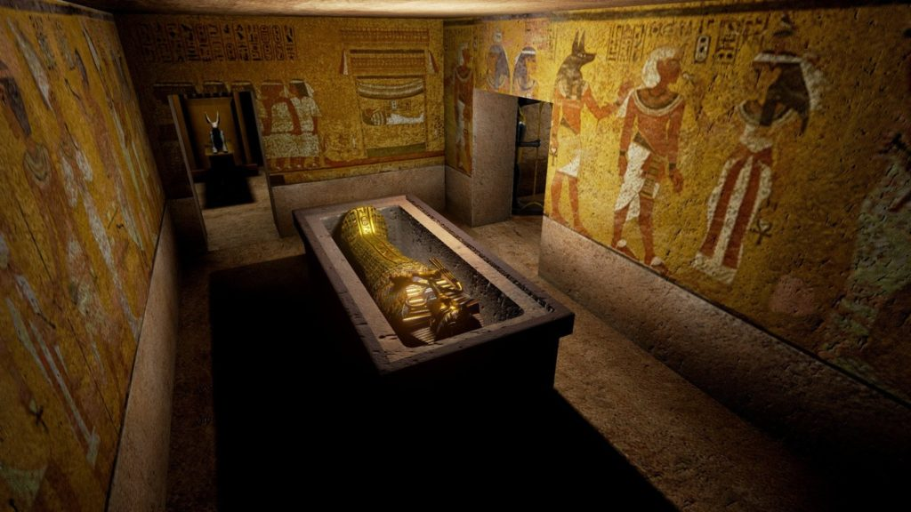 Una posible tumba de Nefertiti fue encontrada en la tumba de Tutankhamon 2