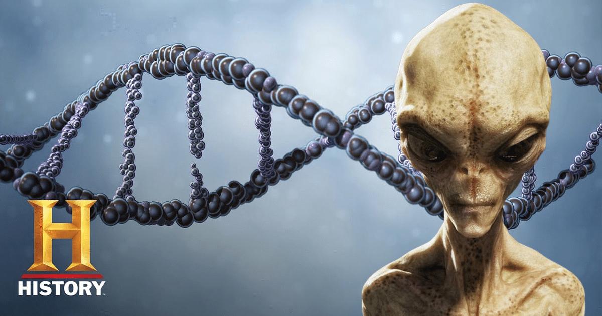 Los extraterrestres pueden haber codificado mensajes en nuestro ADN, según el nuevo descubrimiento de History Channel (video)