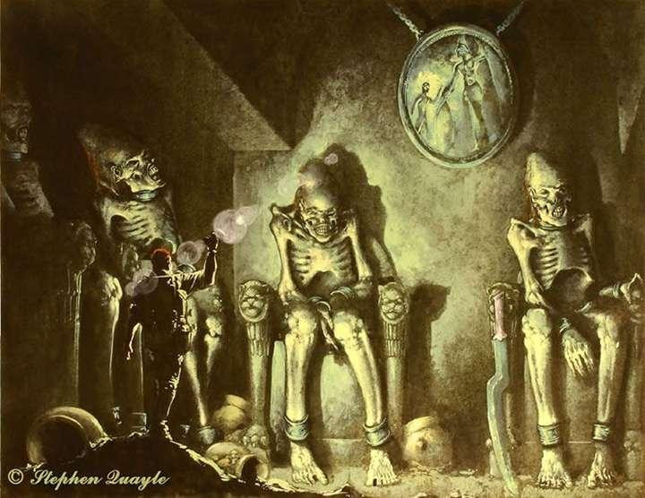 Los gigantes legendarios del Perú, cuyos esqueletos fueron vistos por 8 conquistadores