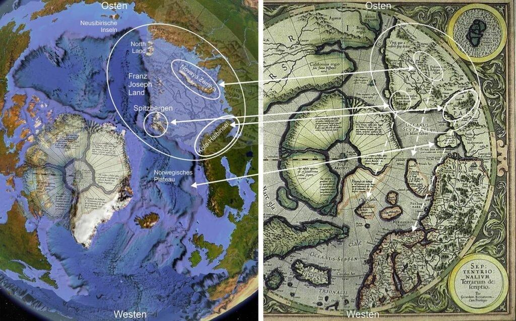 Los restos de una civilización anterior deben buscarse en el fondo del Océano Ártico.