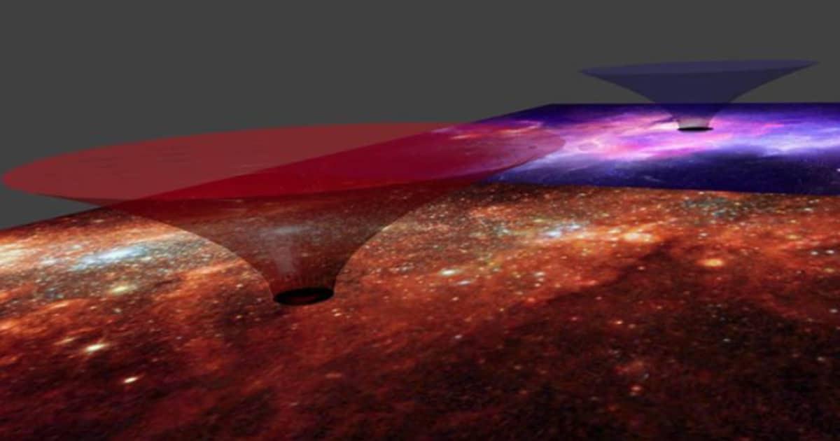 Nuestra galaxia es teóricamente un «agujero de gusano»