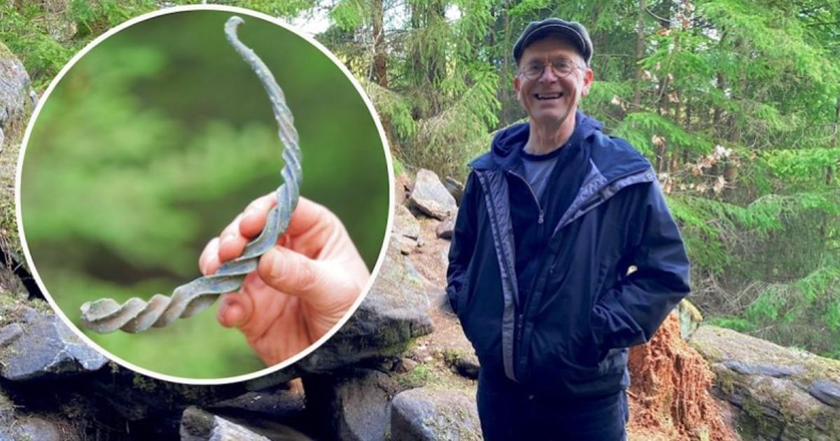 Un antiguo tesoro de la Edad de Bronce encontrado en el bosque sueco fue un regalo a los dioses nórdicos.