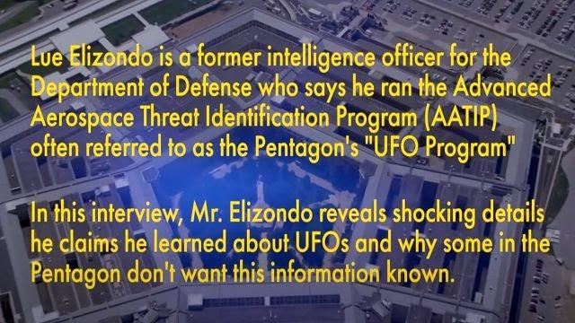 Un denunciante del Pentágono advierte sobre una falla en la inteligencia OVNI