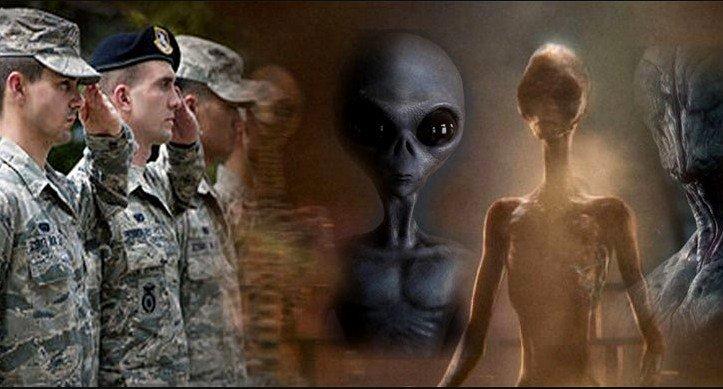 """Estados Unidos ha hecho un""""acuerdo secreto"""" con los extraterrestres grises para la preservación de"""