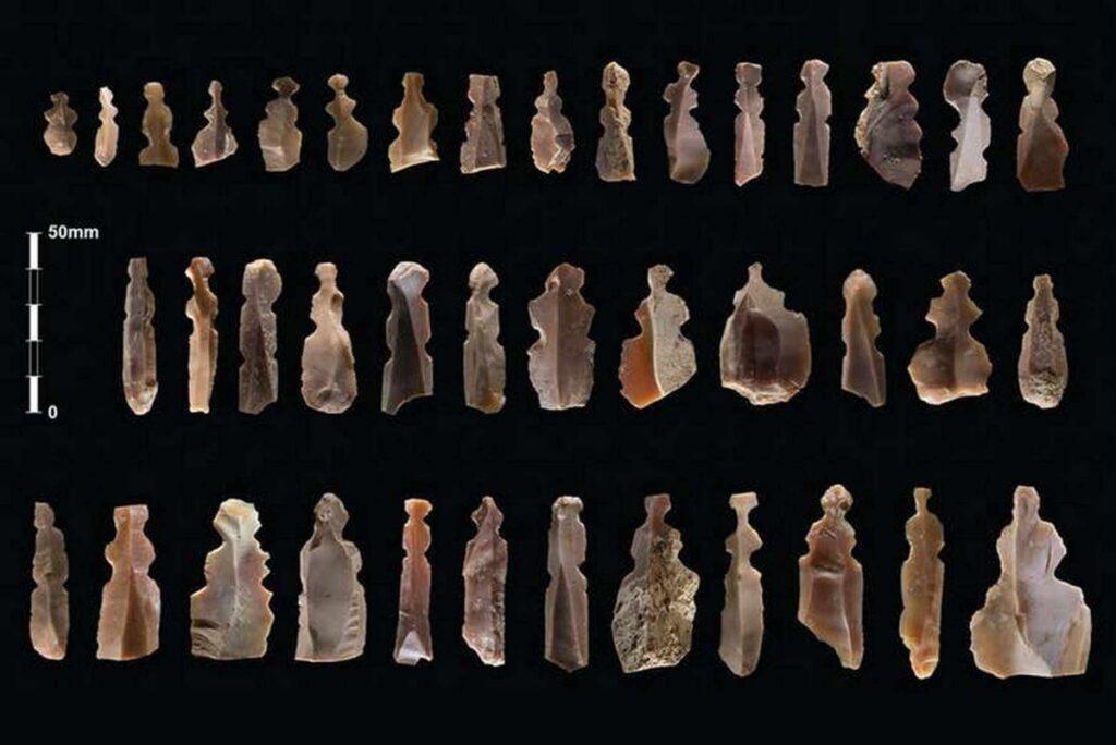 Figuras de criaturas misteriosas encontradas en tumbas de 10.000 años de antigüedad en Jordan 2