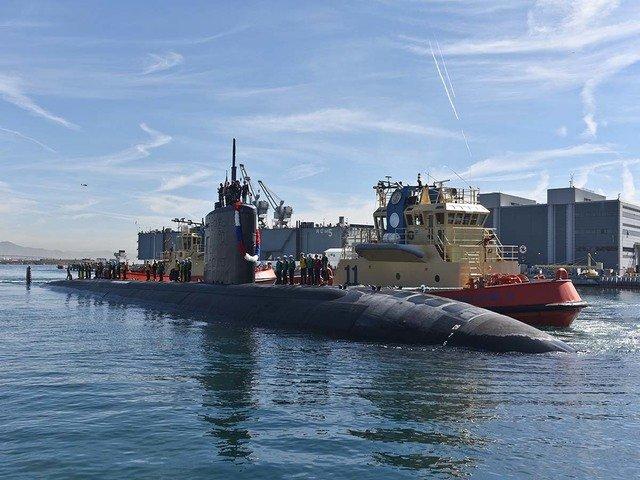 La Marina de los Estados Unidos tiene un área submarina secreta 51 2 51