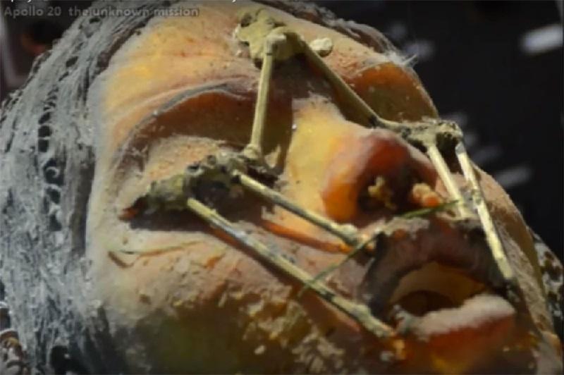 Se han encontrado en la luna una nave alienígena, cámaras criogénicas y ruinas de edificios antiguos 7