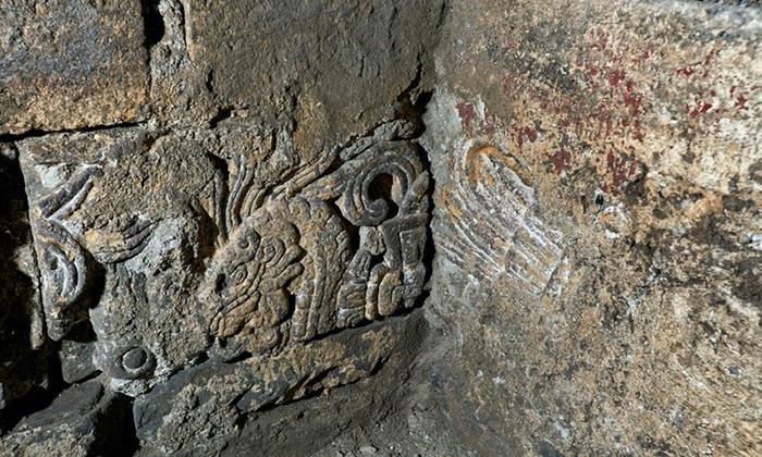 Entre otras cosas, los arqueólogos encontraron dos estatuas de los dioses aztecas.