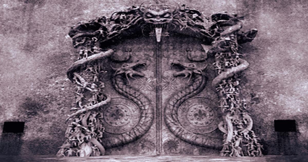 La puerta sellada del antiguo templo de Padmanabhaswamy que nadie pudo abrir