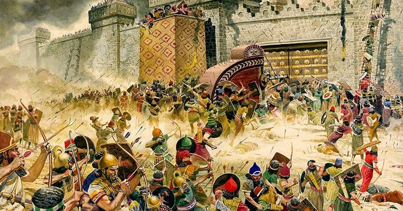 La quema de la antigua Jerusalén por Babilonia se demostró con la ayuda de un campo magnético