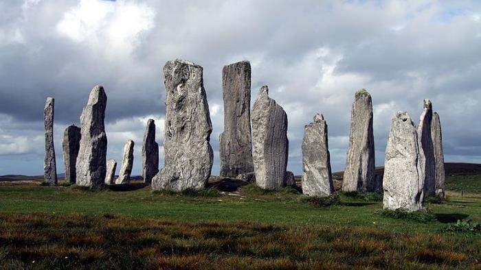 Los druidas de Escocia usaban rayos en sus rituales